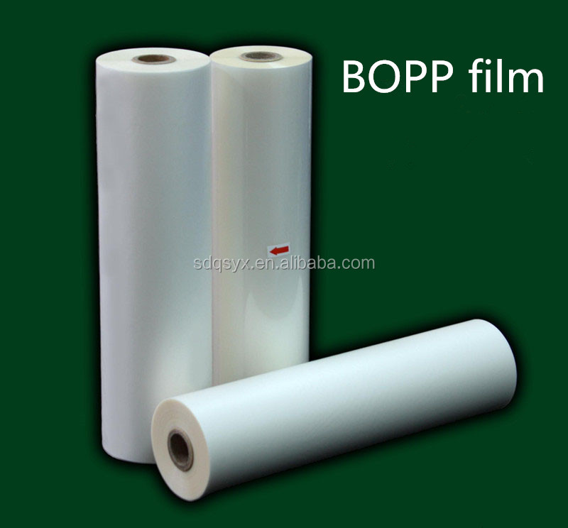 BOPP material Pre-coating film for photo/poster/prints/paper lamination