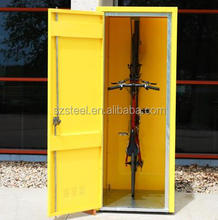 China factory outdoor waterproof bicycle storage locker/bike storage containers