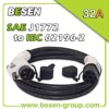 electric vehicles charging j1772 to plug 62196-2 for Electric Vehicles (EV) Charging