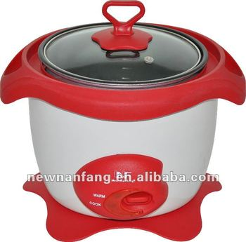 Eletric non stick inner pot rice cooker commercial chinese deluxe big rice cooker for restaurant