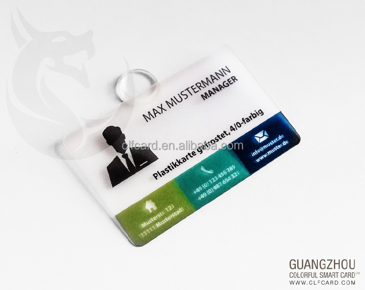 Super quality best sell matte laminated pvc transparent card