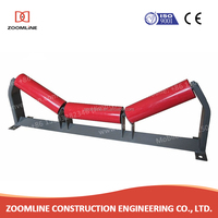 industrial rubber belt conveyor steel return idler