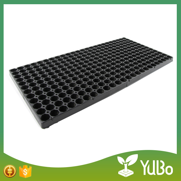 Cheap nursery plant seed container, wholesale plastic seeding tray for planters