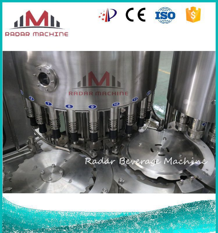 Industrial Pomegranate Tea Juice Filling Machine Manufacturer and Capping Machine