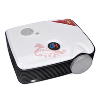 Home Theater Projector full hd 3d led for entertainment phone ipad use 2500 lumens projector 360 degree picture flip