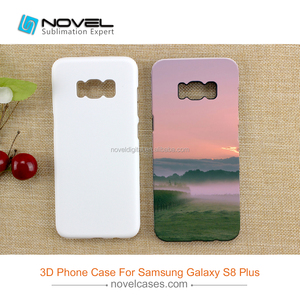 Diy Sublimation 3D 2 in 1 Mobile Phone Case For Galaxy S8 Plus