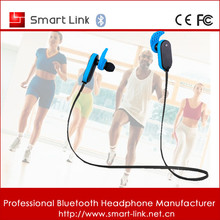 Bluetooth V4.1 Wireless Sweat Resistant Necklace Earbuds With Mic And Volume