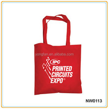 Custom Logo Printing Trade Show Advertising Foldable Non-Woven Bag Tnt Bag