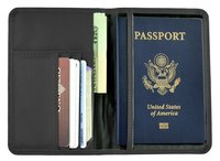 Travel Organizer Passport Holder Protect Cover Wallet Case