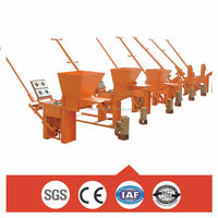 QM2-40 Manual Clay Interlocking Blocks Making Machine for Africa Market