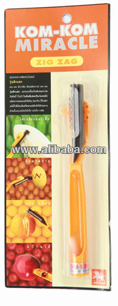 Miracle Peeler Knife Zig-Zagged Wavy Edged blade Cutting Tools