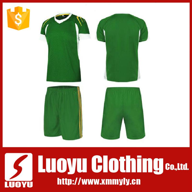 Customized cheap sublimation design soccer jersey made in china