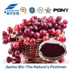 wholesale water-soluble 99% resveratrol/100% Natural Extraction of Grape skin extract/High ORAC High OPC / proanthocyanidins