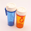 360ml Hot Sale travel portable plastic Drinking Sport Water Bottle Space cup