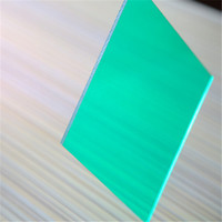6mm Lake Bule Polycarbonate Roof Sheets Price Per Sheet 2100*5800mm,Roofing Sheet,Plastic Roofing