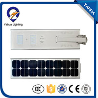 all in one wall mounted solar street lamp with CE certificate