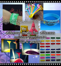 screen printing two components silicone resin for silicone rubber products, silicone ink for rubber printing