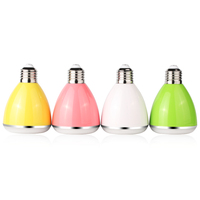 Wireless Bluetooth Speaker Smart LED Bulb Light E27 3W Lamp BL08 Audio APP Remote for Android IOS iPhone iPad