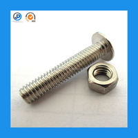 China Machine Manufacturing High Quality M8 Hexagonal Socket Lock Stainless Steel Nut