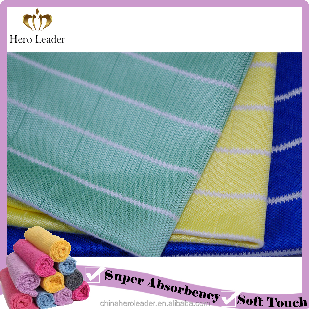 antibacterial bamboo fiber table cleaning cloth