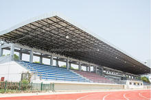 Sports hall stadium steel space frame/steel truss building
