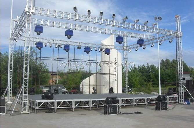 Triangular 12 12 Concert Stage Roof Truss