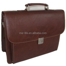 custom gift executive laptop genuine leather men briefcase