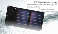 6Watt foldable solar panel charger for mobile phone/Ipad/power bank