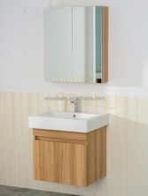 Modern wall mounted bathroom wash basin cabinet