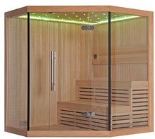 Corner Type Indoor Large Sauna Room