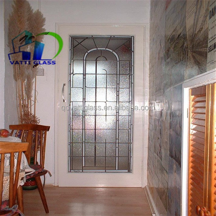 Fixed Frosted Acid Etched Glass Windows Frosted Glass ...