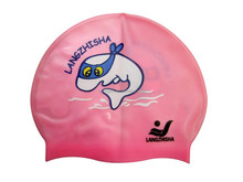 Novelty Printing Adult Silicone Swimming Caps