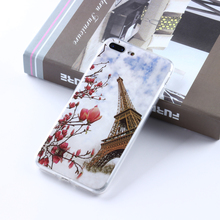 ODM OEM Customized Plum blossom Cell Mobile Smart Phone Common IMD Case For Iphone 5 5c I Phone7