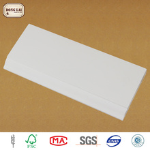 Waterproof High Quality Concave Wholesale Baseboard Wood White Molding