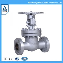 Sale resilient seated stem cap steel gate valve flange dn20 with lowest price