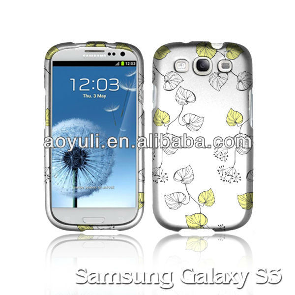 new rubber design phone case for samsung galaxy s3 i9300,for galaxy s3 i9300 case