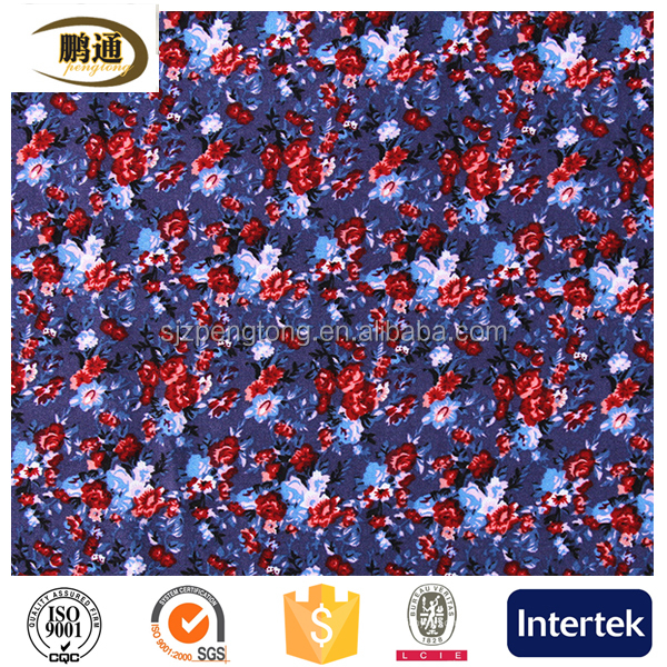 TC 65/35 fabric printed dyed woven fabric
