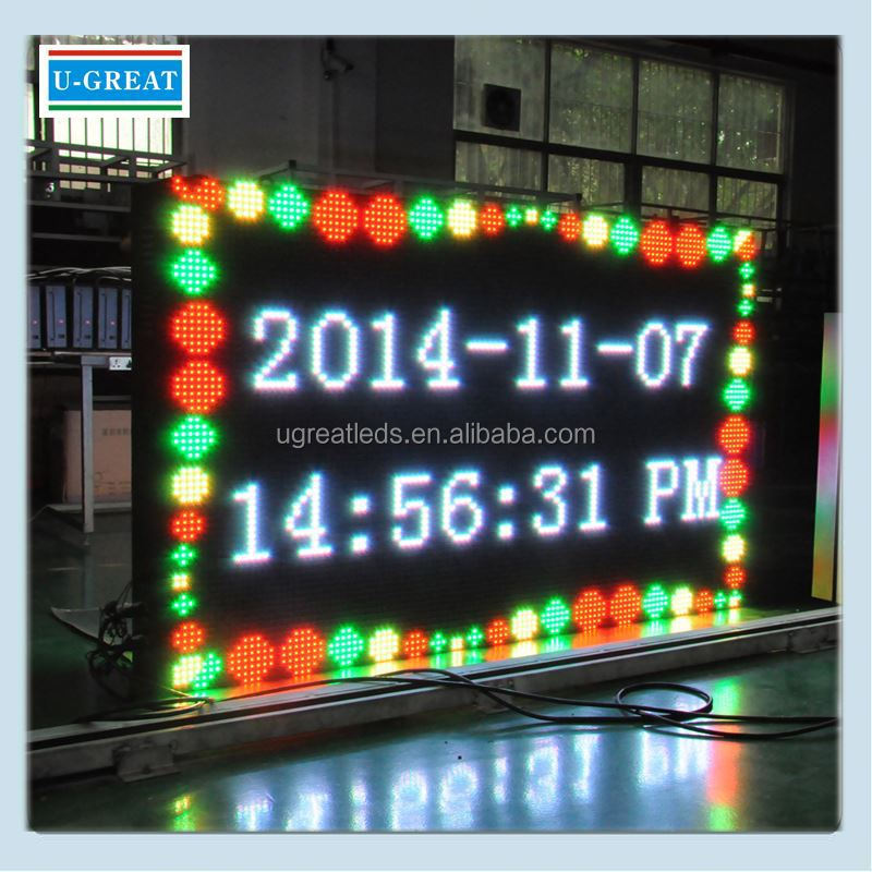 Alibaba in spanish HD outdoor advertising mobile truck led sign display