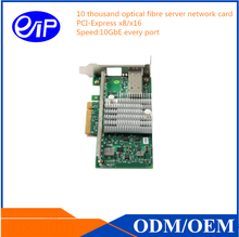 10000 Server fibre-optical network card, Fibre Channel PCI Express Dual Channel Host Bus Adapter