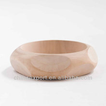 DIY wholesale unfinished wooden bangles/wide bangle bracelet jewelry WJ-B1738