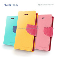 mercury goospery fancy diary leather case,pouch wallet case for Xiaomi Hongmi Remi Note