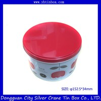 Custom Decorative Round Tea Tin Box