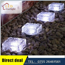 Hottest selling with best quality 10*10 crystal glass solar led ball light outdoor