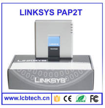 2016 Hot selling pap2t linksys pap2t gsm phone adapter skype phone adapter