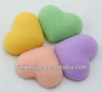 2013 hot selling natural facial sponge