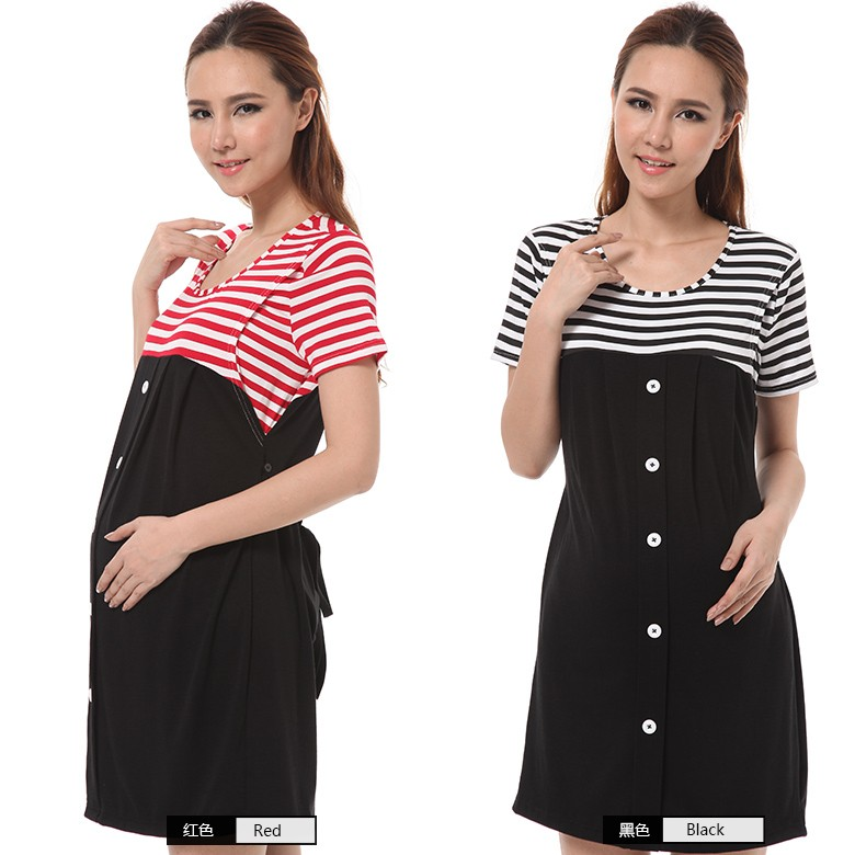 OEM&ODM maternity clothes fashion design stylish maternity dresses