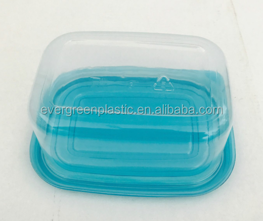 clear plastic food disposable container sushi take away box pp plastic food container