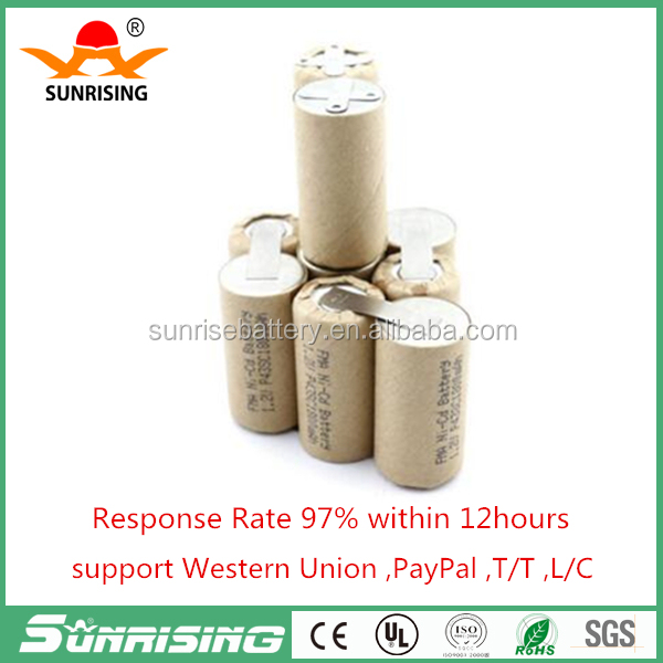 10C discharge Ni-Cd Battery Sub C 12V 1800mAh for Power tools Screw Drill Electric Screwdriver P42