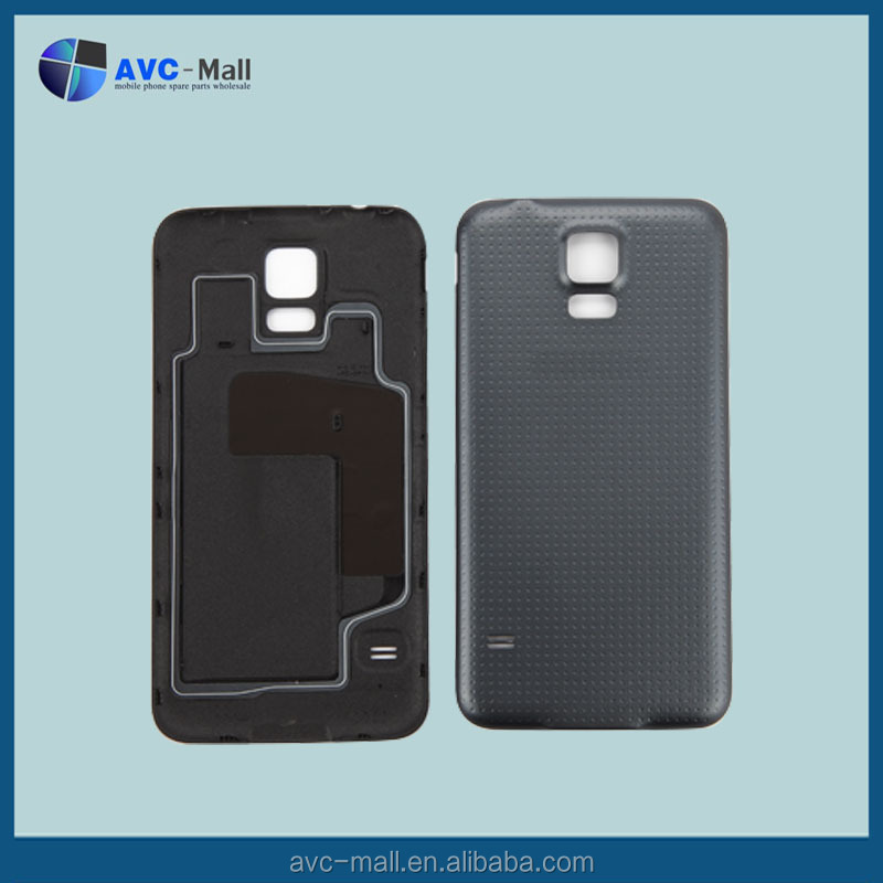 moblie phone parts for Samsung galaxy S5 G900F battery cover black
