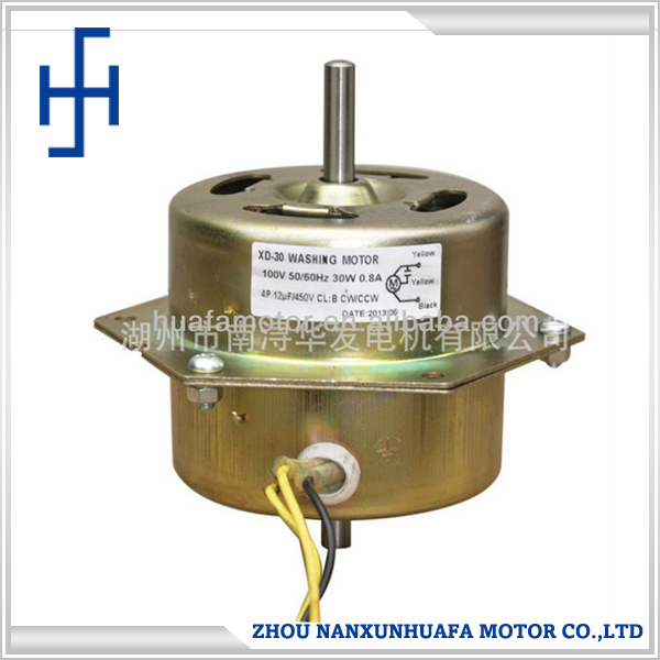 New asynchronous electric motor used for washing machine